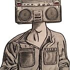 RadioHead by CharcoalArtist