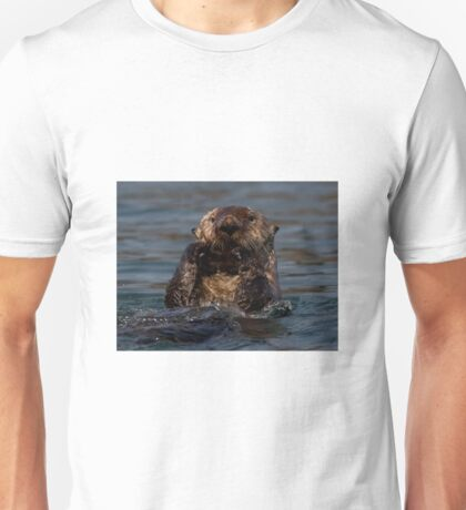 STOCK ~ Sea Otter What's Up Unisex T-Shirt
