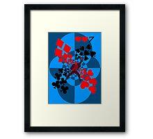 Poker 2 Framed Print