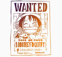 One Piece Luffy Wanted Unisex T-Shirt