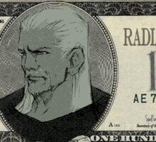 Kingdom Hearts 100$ Bill Sticker