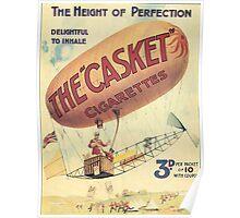 Vintage poster - The Casket Cigarettes Poster
