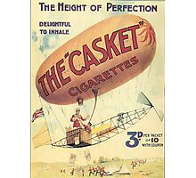Vintage poster - The Casket Cigarettes Photographic Print