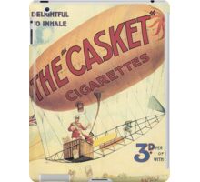 Vintage poster - The Casket Cigarettes iPad Case/Skin