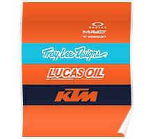 Troy lee designs KTM Team Poster