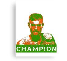 Champion - Conor Mcgregor Canvas Print
