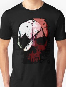 Skull Waterpaint  Unisex T-Shirt