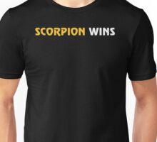 Scorpion Wins Unisex T-Shirt