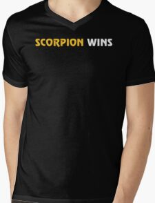 Scorpion Wins Mens V-Neck T-Shirt