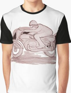 Cafe Racer w color Graphic T-Shirt