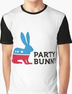 Political Party Animals: Bunny Graphic T-Shirt