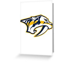 Nashville Predators Greeting Card