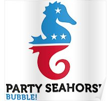 Political Party Animals: Seahorse Poster