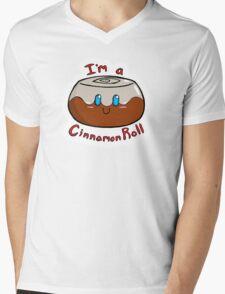 Cinnamon Roll Mens V-Neck T-Shirt