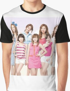 Girls Generation SNSD by bima Graphic T-Shirt