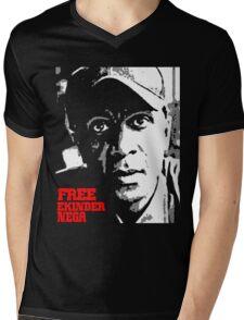 Free Eskinder Nega-2 Mens V-Neck T-Shirt