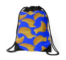 Ducky Oil Painting Pattern Drawstring Bag