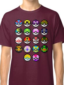 Pokeball Art Classic T-Shirt