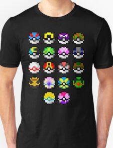 Pokeball Art Unisex T-Shirt