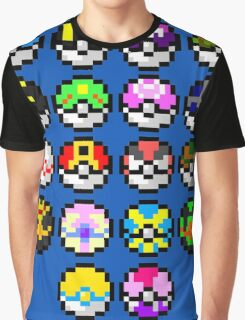 Pokeball Art Graphic T-Shirt