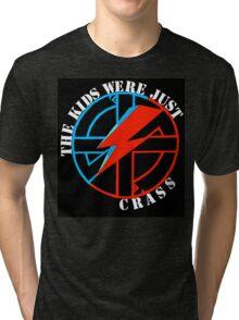 The Kids Were Just Crass Tri-blend T-Shirt