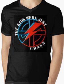 The Kids Were Just Crass Mens V-Neck T-Shirt