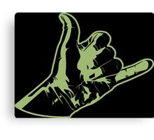 Shaka Hulk  Canvas Print