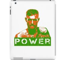 Power - Conor Mcgregor iPad Case/Skin