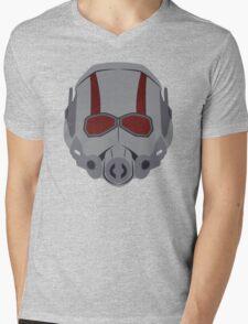 A Small Man Helmet Mens V-Neck T-Shirt