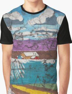 Martin Creek Road Farmland - Candyland Graphic T-Shirt