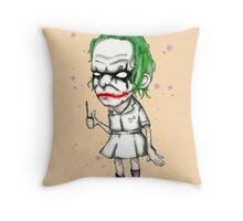 Clown Nurse Throw Pillow