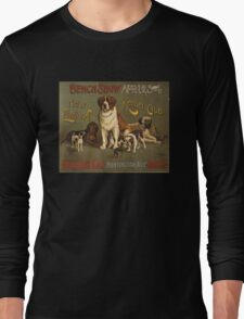 'Kennel Club' Vintage Poster Long Sleeve T-Shirt