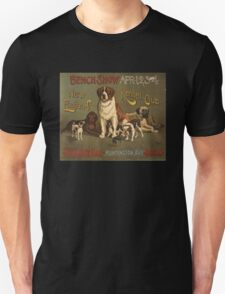 'Kennel Club' Vintage Poster T-Shirt