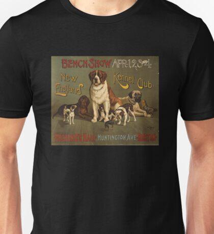 'Kennel Club' Vintage Poster Unisex T-Shirt