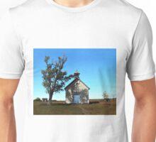 Bichet One-Room School in Autumn, Kansas Unisex T-Shirt