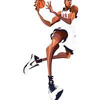 Kobe Bryant by haroldlfonville
