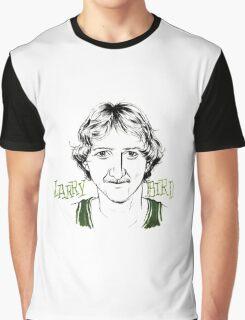 Larry Bird 2 Graphic T-Shirt