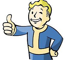 Fallout PipBoy Logo | Sticker & T-Shirt by OGdankster