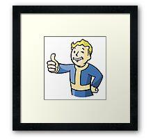 Fallout PipBoy Logo | Sticker & T-Shirt Framed Print