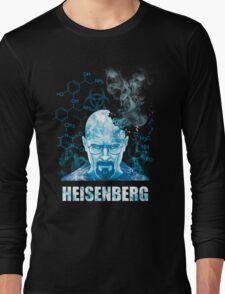 Heisenberg Blue Crystal by Yakei Long Sleeve T-Shirt