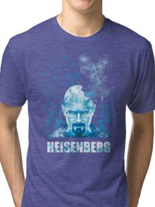 Heisenberg Blue Crystal by Yakei Tri-blend T-Shirt