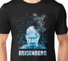 Heisenberg Blue Crystal by Yakei Unisex T-Shirt