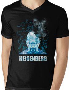 Heisenberg Blue Crystal by Yakei Mens V-Neck T-Shirt