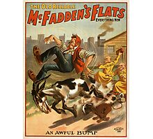 Vintage poster - McFadden's Flats Photographic Print