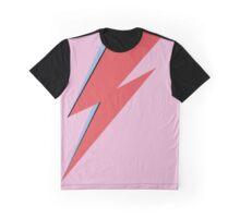 Ziggy Stardust - Lightning Graphic T-Shirt