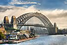 Sydney Harbor by Ray Warren