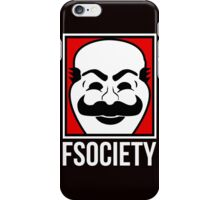Fsociety Is A Hero iPhone Case/Skin