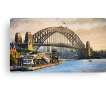 Sydney Harbor (ED) Canvas Print