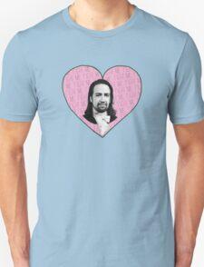 Alexander Hamilton - Fight Me Pink Heart T-Shirt