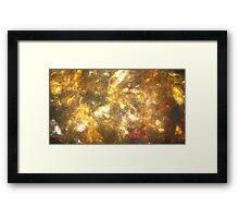 Sun Marble Framed Print